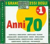 I Grandi Successi Degli Anni 70 Vol 2 - Tozzi/Marcella Bella/Mia Martini Cd Mint