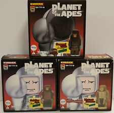 PLANET OF THE APES :  SOLDIER APE, GENERAL URKO & MUTANT HUMAN KUBRICK SETS