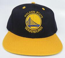 Golden St. guerreros NBA Vintage Flat Bill Snapback Retro 2-Tone Gorra  Sombrero Nuevo! 8a1b1922a2e