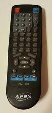 Apex RM 1200 DVD Remote Control RM 1300 AD 1500 AD1500RM AD 1200