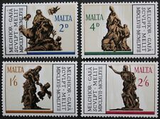 300th death anniversary of Melchior Gafa stamps, Malta, 1967, SG ref:385-388 MNH