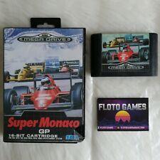Jeu Super Monaco GP pour Megadrive PAL En Boite / Boxed - Floto Games