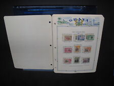 MNH GHANA ON WHITE ACE ALBUM PAGES-1957-1964!