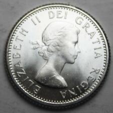 Canada 1963 Silver 10 Cents, Choice Brilliant Uncirculated, Lustrous (17a)