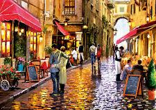 Puzzle promocionales, 8000 piezas, arte, italia, romance, mediterránea, educa