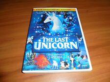 The Last Unicorn (DVD, 2007, 25th Anniversary Widescreen) Used Animated