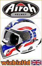 AIROH J106 casco modulare design (Pinlock-Bianco opaco-L) ARH037L