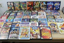 HUGE Walt Disney Pixar DVD Lot 53 DVDs Childrens Animated Classics Originals