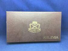Vintage Buck 0401-00-0 Kalinga Knife Buckarta Handle & Leather Sheath Mint N Box