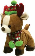 "Cuddle Barn H0 Animated Christmas Singing Toy 10"" Rock & Roll Rider Cb22961"