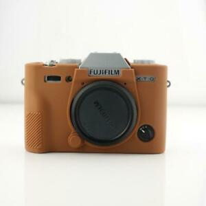 Silicone Rubber Camera Bag For FUJI XT10 XT-10 XT20 XT-20 Protective Cover Skin