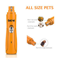 ColPet Rechargeable Pets Nail Tool Clipper Grinder for Painless Paws Grooming