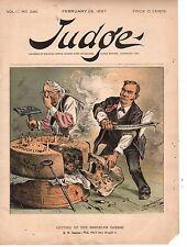 1887 Judge - Brooklyn Politics Stink under investigation