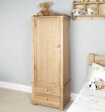 Jayden childrens bedroom furniture oak single wardrobe