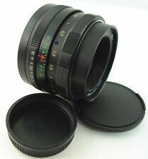 !!NEW!! HELIOS 44m 44 2/58 Russian Soviet USSR Lens Screw Mount M42 Canon EOS 5D