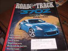Road & Track January 2009 Nissan 370Z