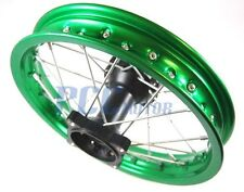 "12"" GREEN REAR RIM WHEEL HONDA SDG COOLSTER 107 110 125cc PIT BIKE V RM07G"
