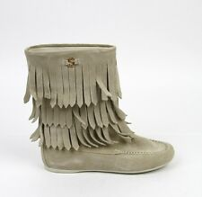 New Authentic Gucci Kids Boot w/Fringe,Interlocking G,33/US 2, 285281