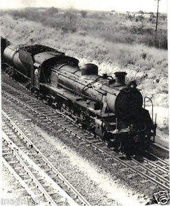 Photographie - Locomotive RR - Mpopoma - Cliché Marc DAHLSTROM - 1978