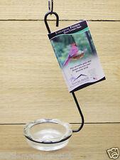 Erva Hanging Wild Bird Feeder with Clear Dish- Oriole Bluebird Feeder