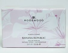 Banana Republic Rosewood For Women Perfume Eau de Parfum 3.4 oz ~ 100 ml Spray