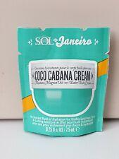 Sol Janeiro Coco Cabana Body Cream 7.5 ml Travel Size Sachet BN