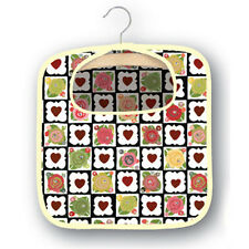 Julie Dodsworth Chocolate Box Cotton Peg Bag with Hanger