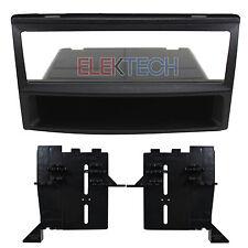 Radio Replacement Dash Mount Install Kit Single-DIN w/Pocket for Hyundai/Kia