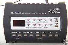 ROLAND TD3 KIT BATTERIA ELETTRONICA MODULO / Brain,attacco & alimentazione