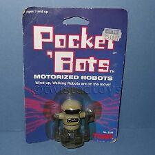 VINTAGE 1984 TOMY No. 2584 POCKET 'BOTS MOTORIZED ROBOT (WIND-UP, WALKING) MOC