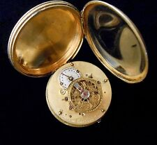Verge Fusee Ladies Pocket Watch Robert Robin Paris France 1794 Runs