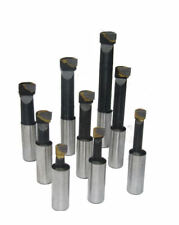 RDGTOOLS 9PC 12MM CARBIDE TOOLS OPPOSITE HAND FOR BORING HEAD