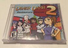 Diner Dash 2 FLO Restaurant Rescue Jewel Case.  FREE SHIPPING!!