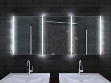 LED Bad Wand Badschrank Badezimmer Spiegelschrank Alu Rahmen 160x70cm MLA16700