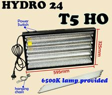 T5 4X24W 6400K (GROW) FLURO LIGHT + SERIAL PORT PROPOGATION HYDROPONIC LAMP
