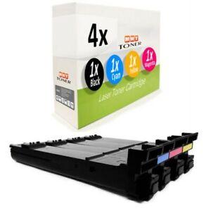 4x Toner Pour Konica Minolta Magicolor 4695-MF 4650-EN 4690-MF 4650-DN