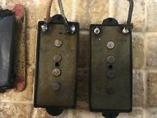 1973 Fender Precision Bass Pickups with Plate , Covers and Screws