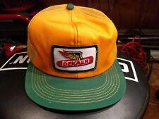 Vintage Dekalb Seed Co K Products Trucker Snap back Cap Hat Mesh 1980's NOS