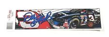 Vintage 90's Dale Earnhardt Sr #3 Winston Cup Bumper Sticker Decal Made in USA