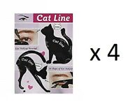Classic Beauty Cat Lin Eye Makeup Tutorial (4 Pack)