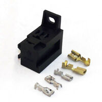 Micro Relay Base Holder and Mounting Bracket - For 4/5 Pin Relays