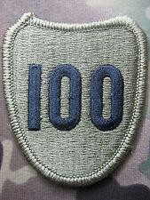 U.S. ARMY AUFNÄHER KLETT PATCH 100TH INFANTRY DIVISION MULTICAM OCP