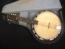 RARE Vintage 1920s Melody Major Banjolin (Banjo Mandolin) With Original Case