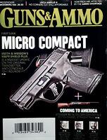 Guns & Ammo Magazine June 2021 Smith Wesson Micro Compact M&P9 Shield Plus