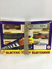 Bachmann Electric Canadian Train Set Ho Scale Candian CN Hustler