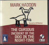 Mark Haddon The Curious Incident Of Dog In Night Time 5CD Audio Book Unabridged