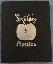 SNOW GLASS APPLES -Slipcase Hardcover- LMTD Numbered Edition- Signed Neil Gaiman