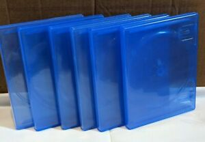 6 x OFFICIAL PS4 Replacement Game Cases Condition extra CASES Sony Playstation 4