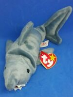 TY CRUNCH the SHARK BEANIE BABY - MINT with MINT TAG
