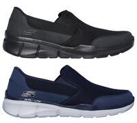 SKECHERS 52984 EQUALIZER 3 BLUEGATE Memory scarpe uomo sportive sneakers tessuto